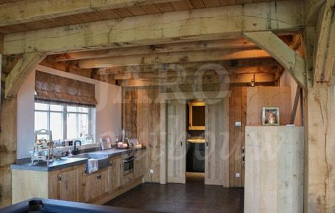 Gastenverblijf Bouwen Prijs : Eiken gastenverblijf jaro houtbouw