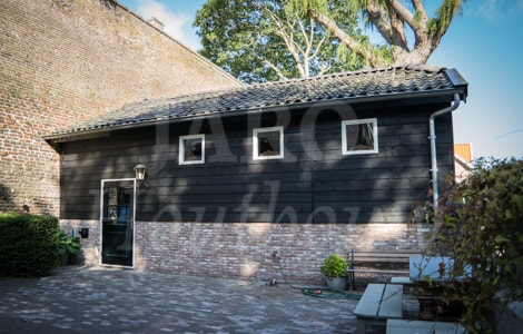 Garage Bouwen Prijs : Houten garage jaro houtbouw