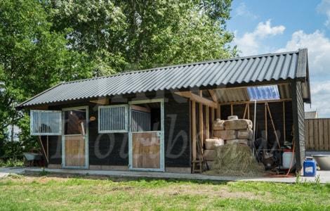 Spiksplinternieuw Houten paardenstal bouwen? Kies voor duurzame houtbouw! IS-41