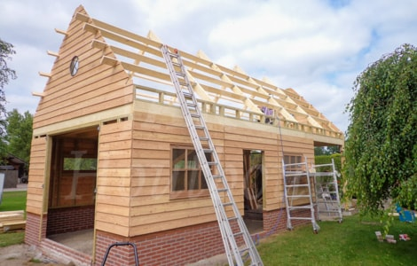 Houten Schuur Prijzen : Houten schuur jaro houtbouw