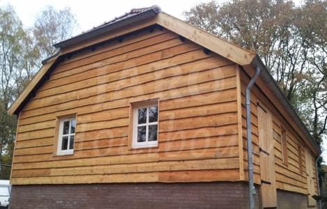 Houten schuur jaro houtbouw for Houtskelet schuur