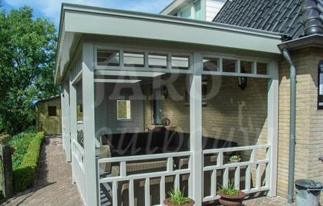 Houten veranda jaro houtbouw
