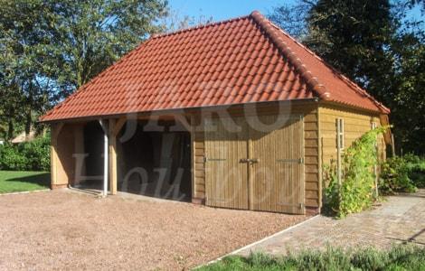 Kosten Bouwen Garage : Kapschuur bouwen jaro houtbouw
