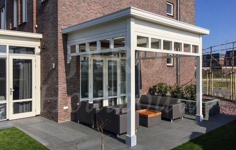 Luxe veranda bouwen jaro houtbouw