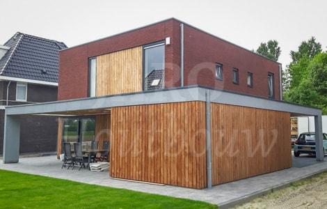 Bouw een modern huis! jaro houtbouw