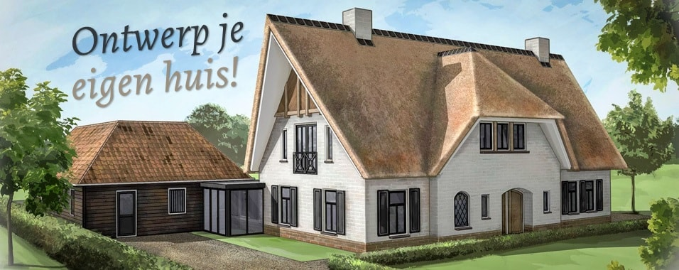 Ontwerp je eigen huis met jaro houtbouw for Zelf woning ontwerpen
