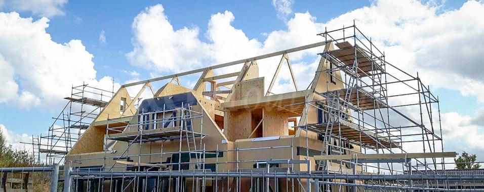 Prefab woning bouwen jaro houtbouw for Zelf een huis bouwen wat kost dat