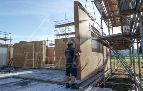 Prefab woning bouwen jaro houtbouw for Wat kost zelf een huis bouwen