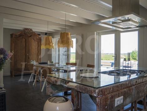 Houten recreatiewoning jaro houtbouw - Interieur chalet houten berg ...