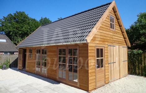 Schuur of garage bouwen jaro houtbouw for Bijgebouw tuin