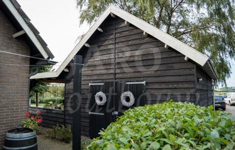 Houten Schuur Kopen : Schuur met overkapping bouwen ✓ jaro houtbouw