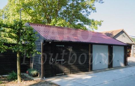 Garage Met Overkapping : Schuur met overkapping bouwen ✓ jaro houtbouw
