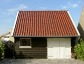 Houten garage in Stellendam