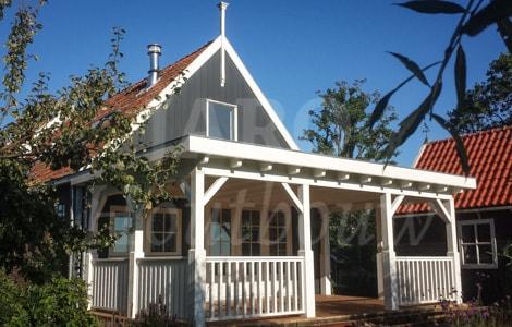 Houten veranda bouwen door jaro houtbouw
