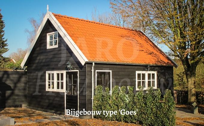 Houten bijgebouw bouwen door jaro houtbouw for Bijgebouw tuin