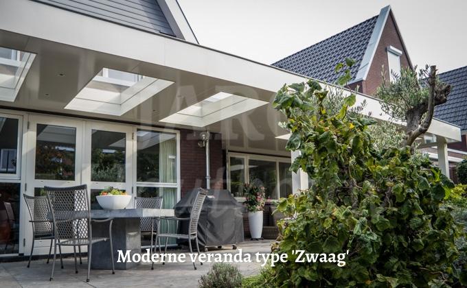 Past bij uw woning ook een moderne veranda kies voor jaro houtbouw - Veranda modern huis ...