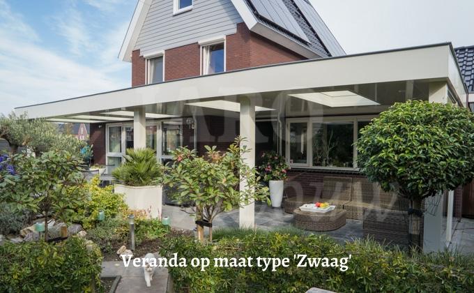 Veranda op maat maatwerk veranda door jaro houtbouw - Veranda modern huis ...