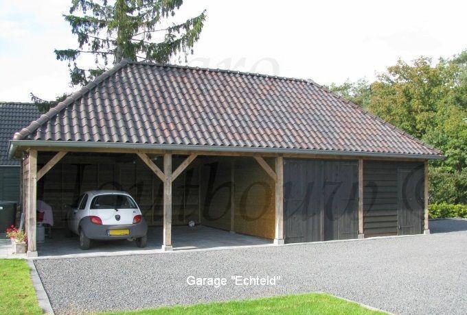 Houten garage bouwen? Kies voor Jaro Houtbouw