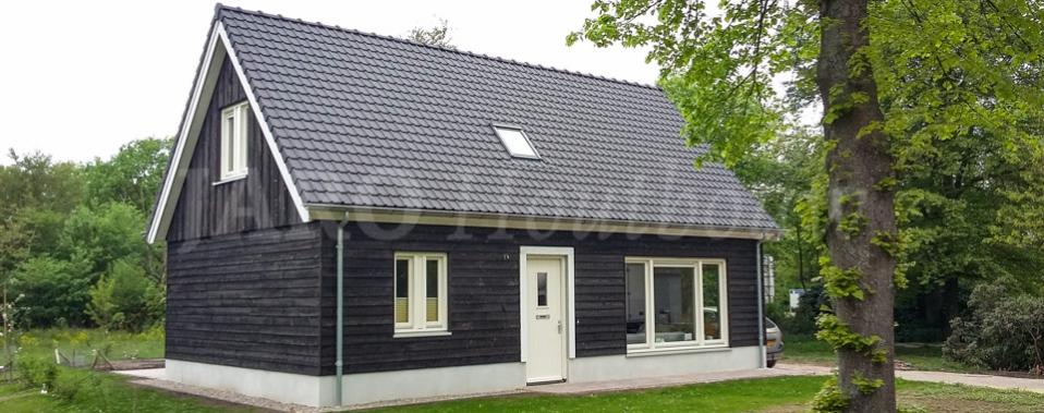 Houten huis bouwen jaro houtbouw - Houten huis ...