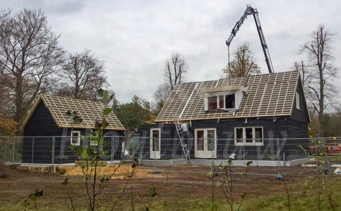 Wonen in een houten huis jaro houtbouw - Houten huis ...