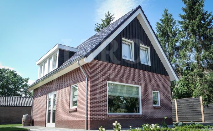 Prefab Schuur Steen : Woning in ermelo combineer steen en hout